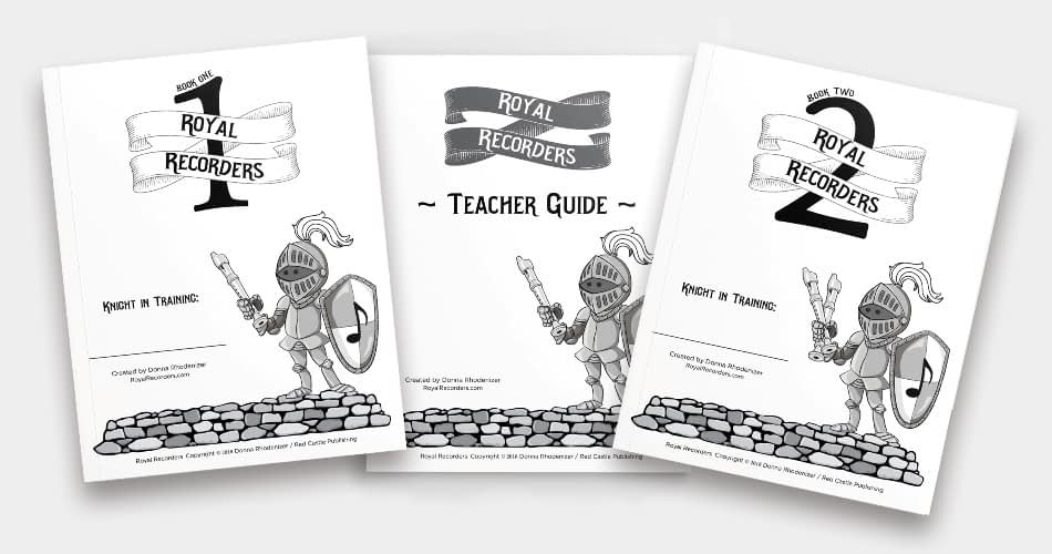 Royal Recorders - 2 student books and teacher guide