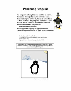 Pondering Penguins - Lyrics