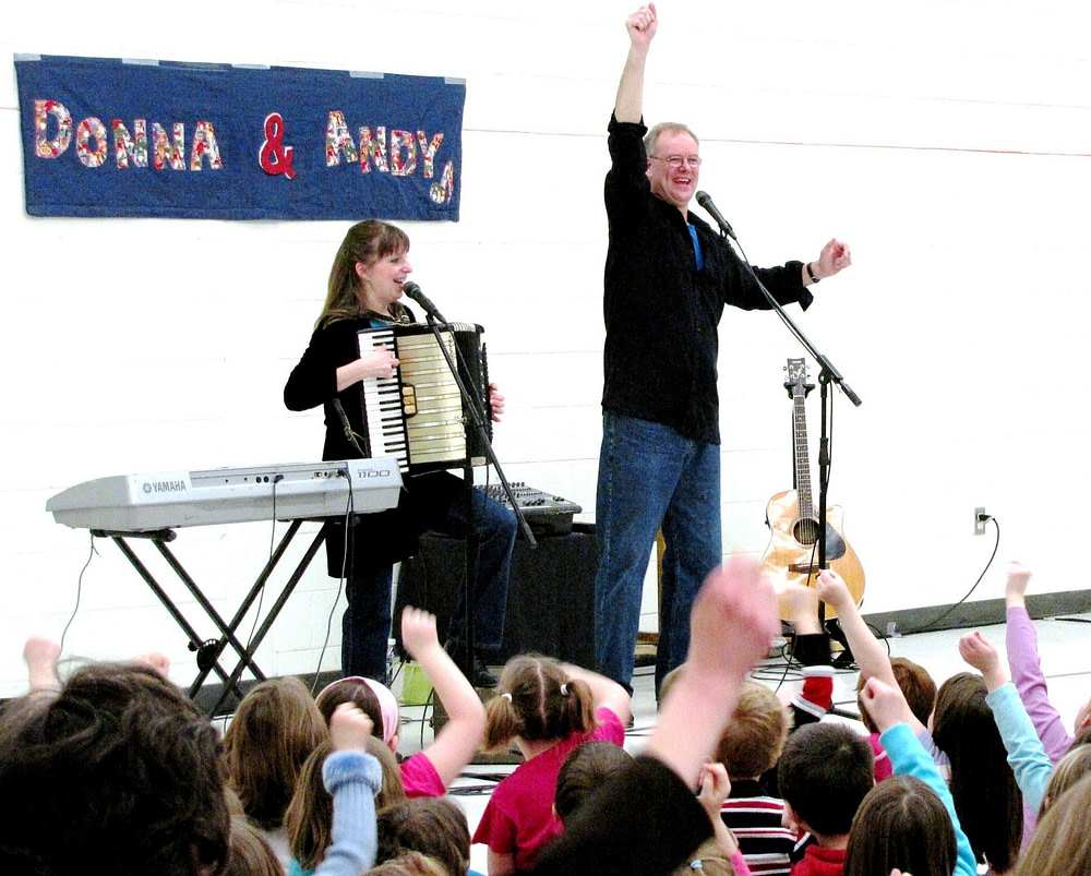 Donna & Andy in Concert