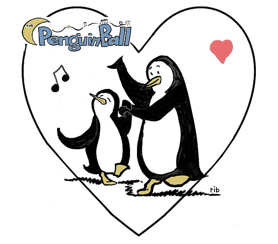The Penguin Ball - Penguin Song - Donna & Andy