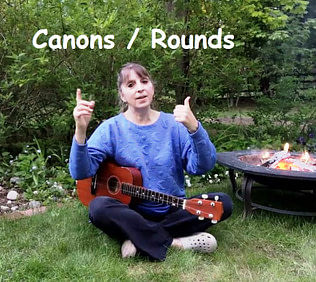 Donna Rhoidenizer - Canons and Rounds - Camp Songs