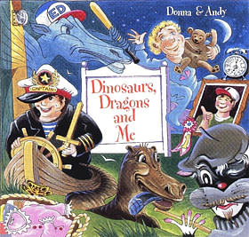 Dinosaurs, Dragons and Me - CD