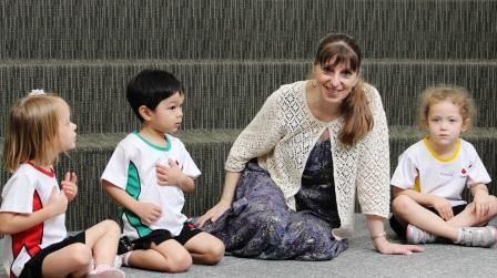 Donna Rhodenizer - elementary music teacher and composer