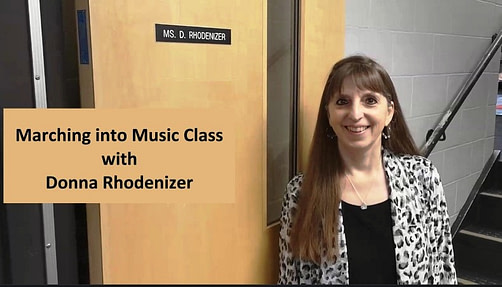 Marching into Music Class with Donna Rhodenizer