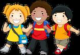 3 children - Welcome songs