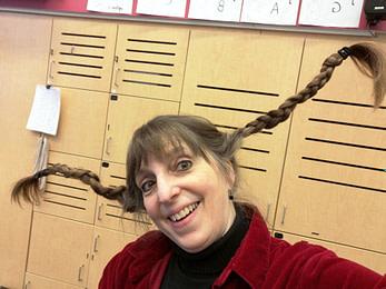 Halloween Hair - Donna Rhodenizer