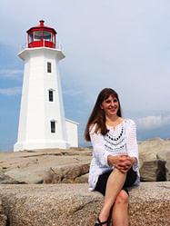 Donna Rhodenizer - Lighthouse - Peggy's Cove, Nova Scotia