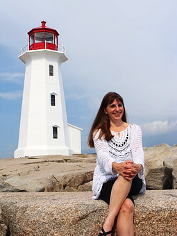 Donna Rhodenizer - Lighthouse - Peggy's Cove, Nova Scotia