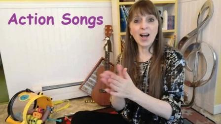 Action Songs - Donna Rhodenizer's Camp Song Collection