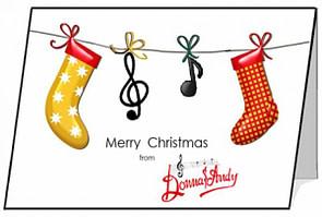 Donna & Andy - Christmas Card