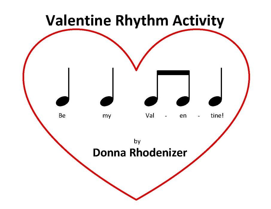 Valentine Rhythm Activity