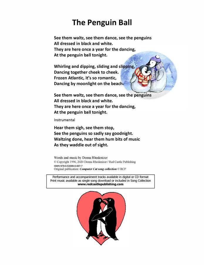 The Peguin Ball - Lyrics