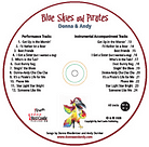 Blue Skies and Pirates - CD - Donna & Andy