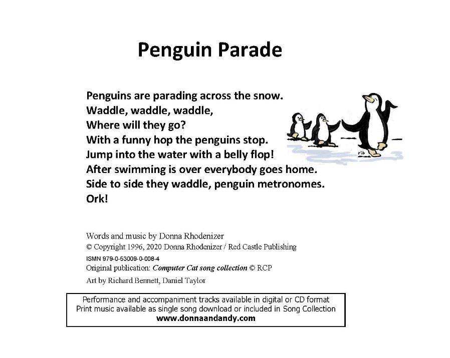 Penguin Parade - Lyrics