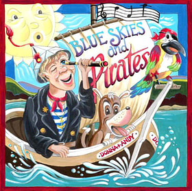 Blue Skies and Pirates CD image