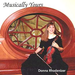 Musically Yours - CD - Donna Rhodenizer