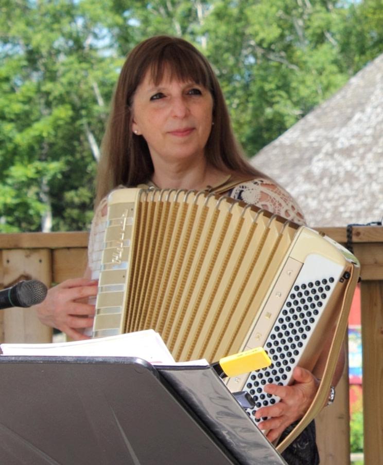 Donna Rhodenizer - Aunt Marge's accordion