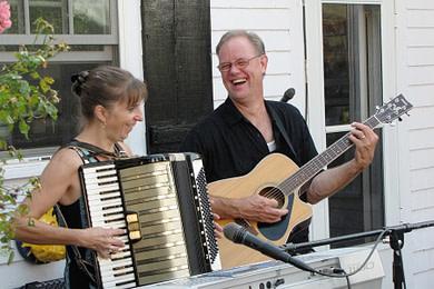 Donna & Andy - Garden Party - Chester Nova Scotia